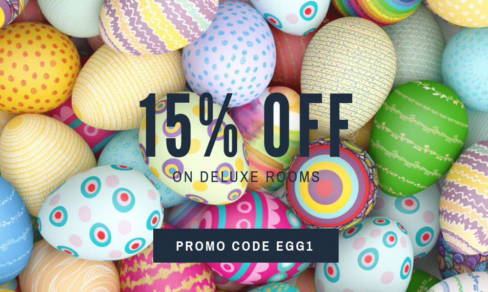 Promo-Code-EGG1 -15% on Deluxe Rooms